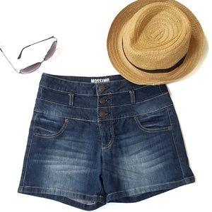 Mossimo High-Waisted Denim Shorts